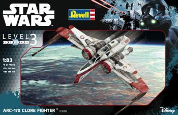 Star Wars ARC -170 Fighter 1/83