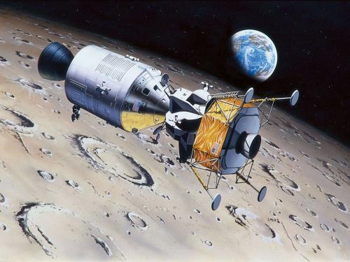 "Moon Landing 1/96 - Apollo 11 ""Columbia & Eagle"""