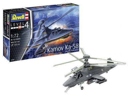 Kamov Ka-58 Stealth 1/72