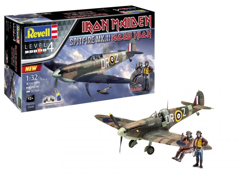 Iron Maiden Spitfire Mk.II Aces High 35th 1/32