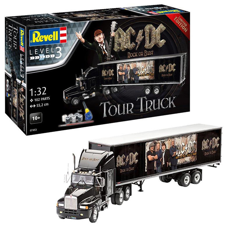 AC/DC TourTruck & Trailer 1/32