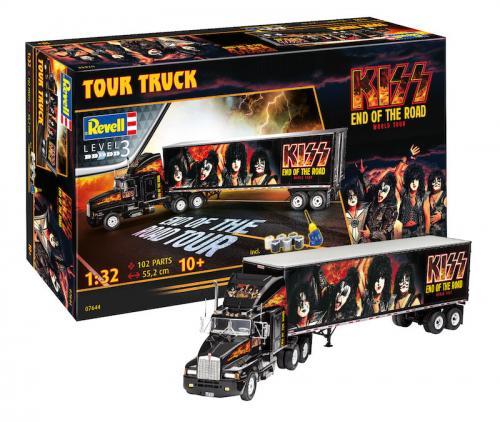 KISS Tour Truck Gift Set 1/32