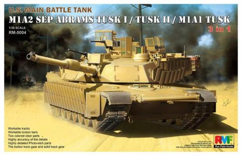 M1A2 TUSK I/ TUSK II / M1A1 TUSK (3 in 1) 1/35