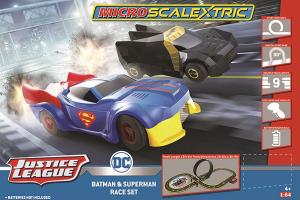 Micro Scalextric Justice League (Battery Powered)