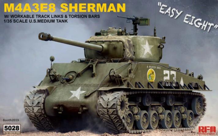"M4A3E8 Sherman ""Easy Eight"" 1/35"