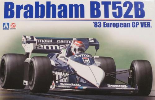 Brabham BT52B BMW 1st Italy 1983 No5, No6 Piquet , Patrese 1/20