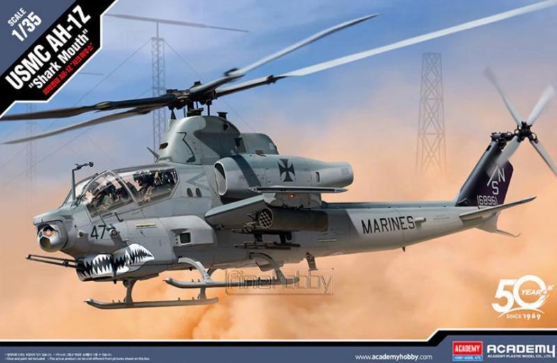 """USMC AH-1Z """"Shark Mouth"""" 1/35"""