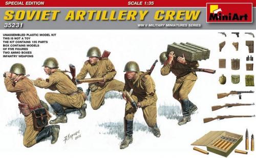Soviet Artillery Crew Special Edition 1/35