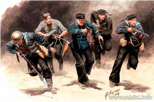 Soviet Marines, Attack, 1941-1942. Eastern Front Battle Series 1/35