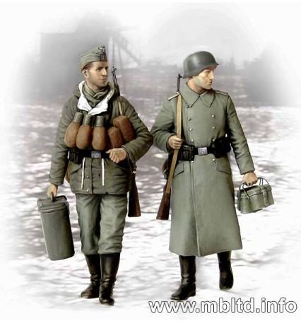 Supplies at Last! German Soldiers 1944-45 1/35