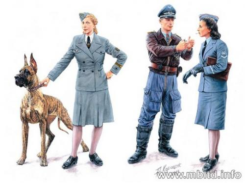 Women at War Germany, Luftwaffe Helferinnen 1/35