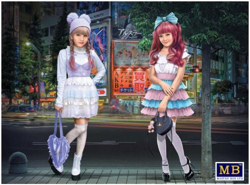 Kawaii Fashion Leaders Minami and Mai 1/35