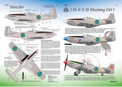 J26 & S26, P-51 Mustang Del 1 1/48
