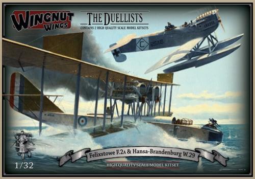 Felixstowe F.2a & Hansa-Brandenburg W.29 1/32