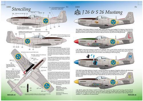 J 26 Mustang 1/32