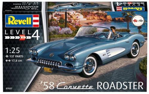 '58 Corvette Roadster 1/25