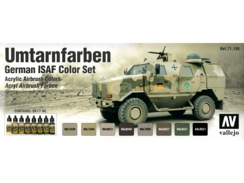 German ISAF (x8)