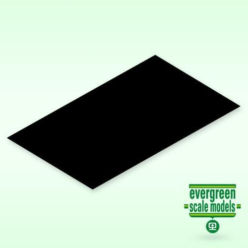 Evergreen  Skiva 2x150x300 mm svart