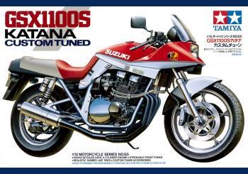 Suzuki GSX1100S Katana Custom Tuned 1/12