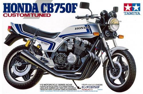 Honda CB750F Custom Tuned 1/12