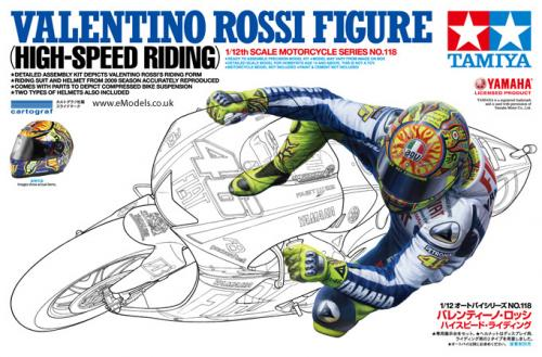 Valentino Rossi Figure (High Speed Riding) 1/12