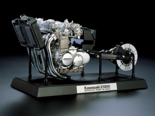 Kawasaki Z1300 Motorcycle Engine 1/6
