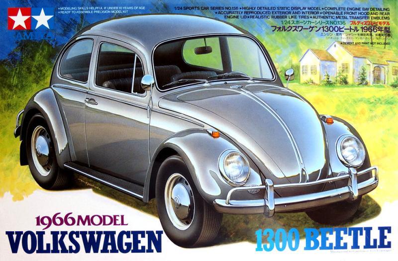 Volkswagen Bubbla 1300 Beetle 1966 1/24