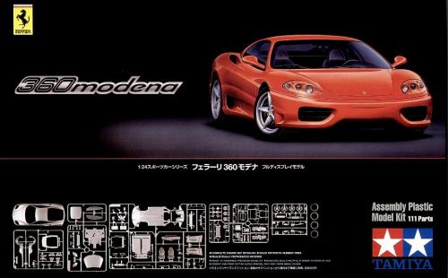 Ferrari 360 Modena 1/24