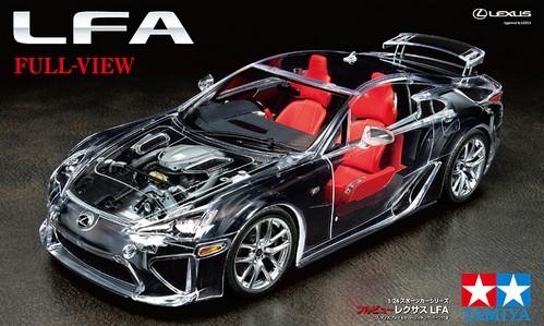 "Lexus LFA ""Full View"" 1/24"
