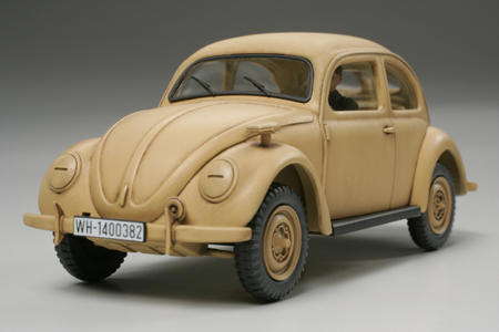 Volkswagen Bubbla Type 82E Staff Car 1/48