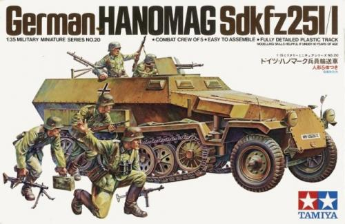 German Hanomag SdKfz 251/1 1/35