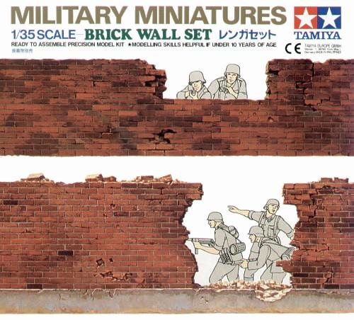 Brick Wall Set 1/35