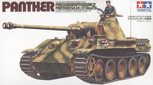 Panzerkampfwagen V Panther Sd.kfz.171 Ausf.A 1/35