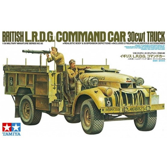 British L.R.D.G. Command Car 30CWT Truck 1/35