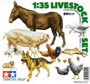 Livestock Set 1/35