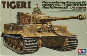 Pz.Kpfw.VI Tiger I Ausf.E Sd.Kfz.181 Late version 1/35