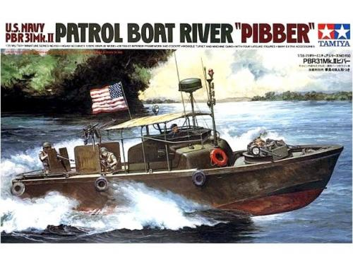 U.S. Navy PBR31 Mk.II Patrol Boat River 1/35