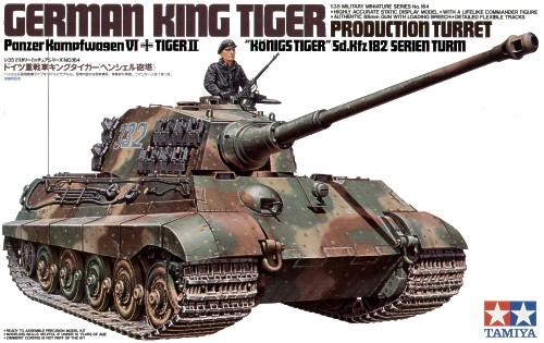 King Tiger Sd.Kfz.182 Production Turret 1/35