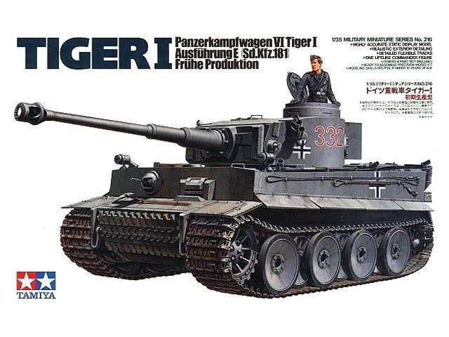 Tiger I Panzerkampfwagen VI Ausführung E (Sd.Kfz.181) Tidig Produktion 1/35