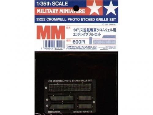Cromwell Photo Etched Grille 1/35