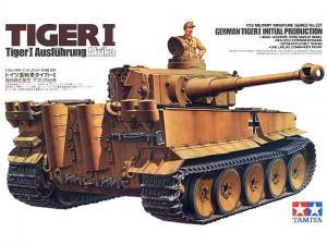 Tiger I Ausführung Afrika 1/35