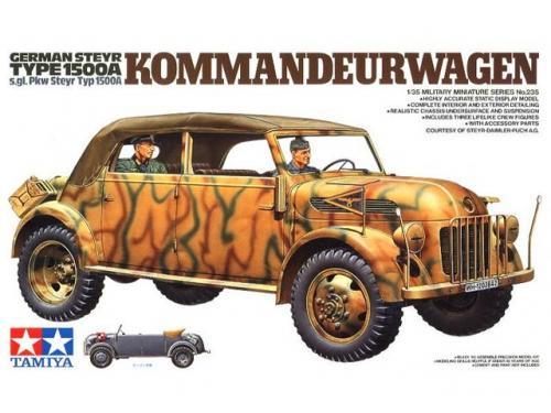 German Steyr Type 1500A Kommandeurwagen 1/35
