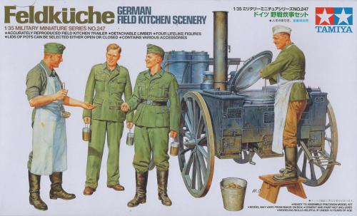German field kitchen 1/35