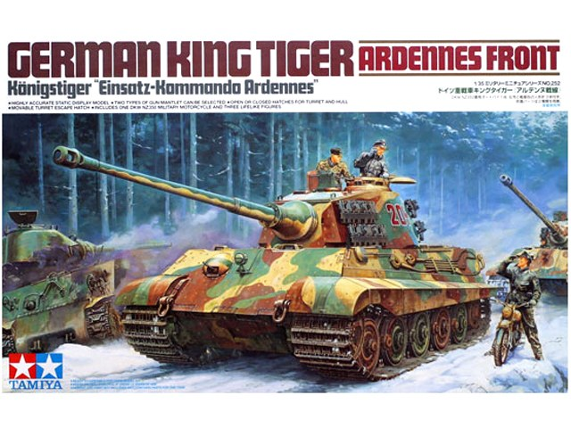 German King Tiger (Ardennes Front) 1/35
