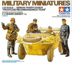 German Panzer Division Frontline Reconnaissance Team 1/35