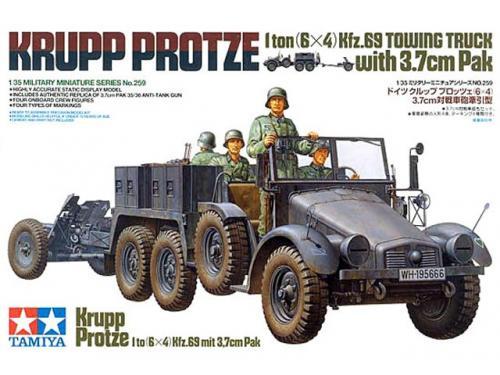 Krupp Protze 1/35