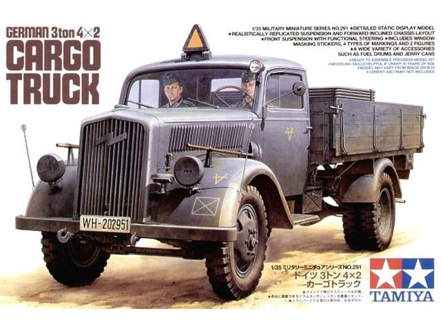 German 3ton 4x2 Cargo Truck 1/35