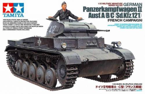 German Panzerkampfwagen II Ausf.A/B/C (Sd.Kfz.121) 1/35
