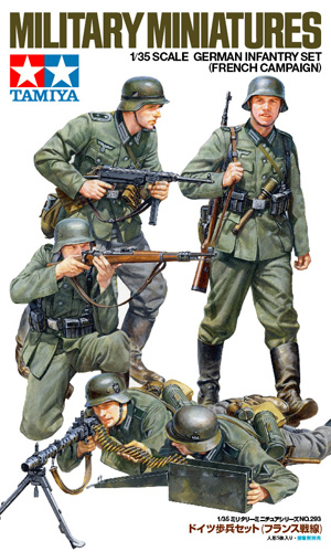 German Infantry Set - (French Campaign) 1/35