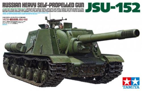 Russian Heavy Self-Propelled Gun JSU-152 1/35